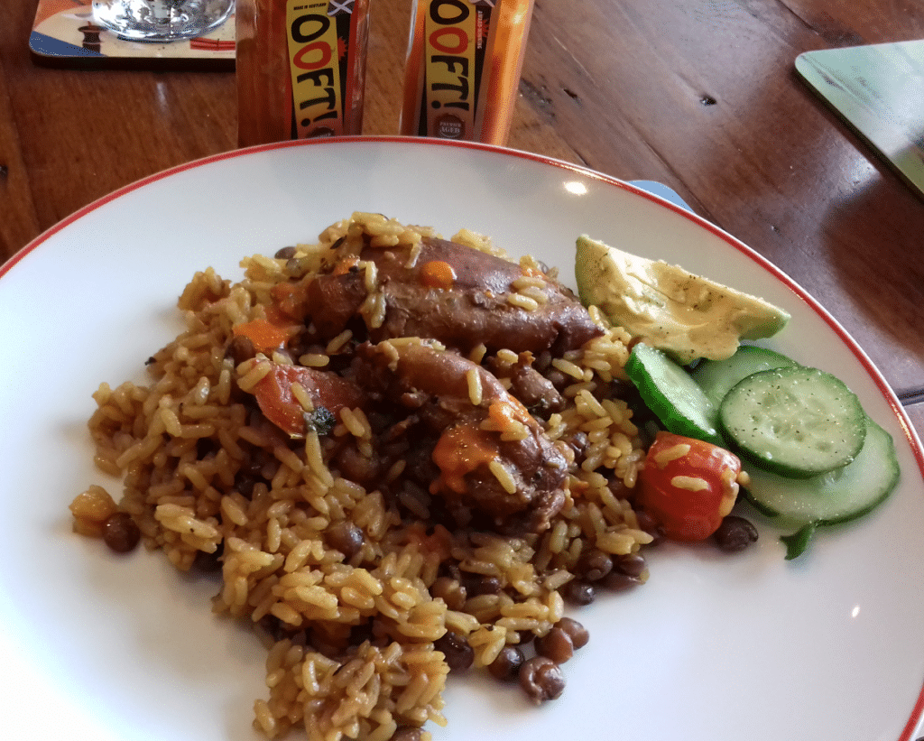 Caribbean Chicken and Rice and peas – One pot slow cook Trinidad Pelau