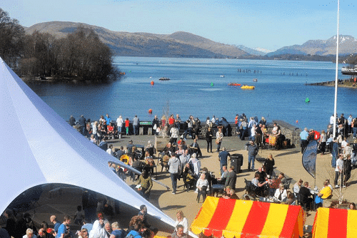 Springfest on Lock Lomond