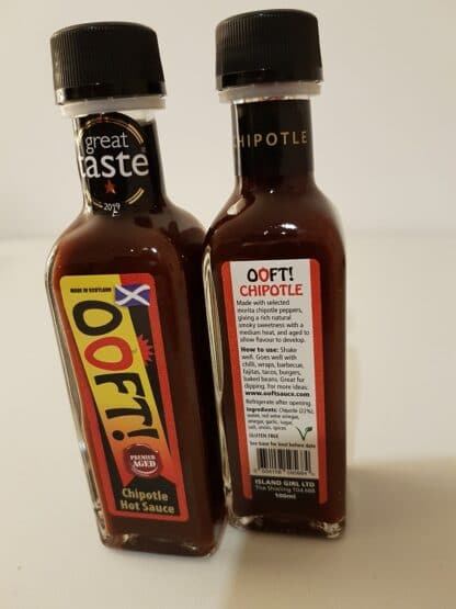 Ooft! Chipotle Hot Sauce
