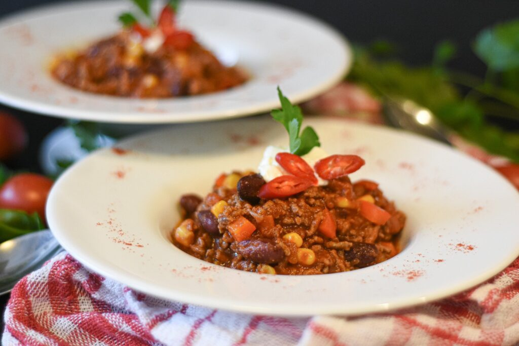 Chilli Beef Recipe – warm and spicy